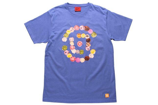 Online Clot Ice Cream  Logo 646 Tee 1