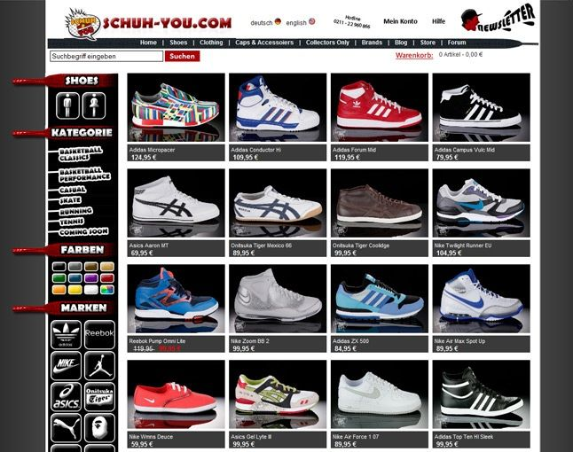 Schuh You New Online Store 1
