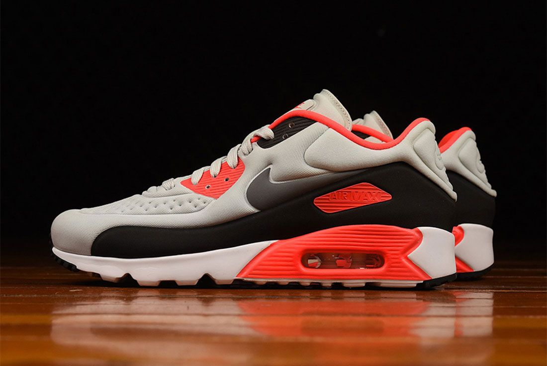 Nike Air Max 90 Ultra Se Infrared Lateral Side Shot