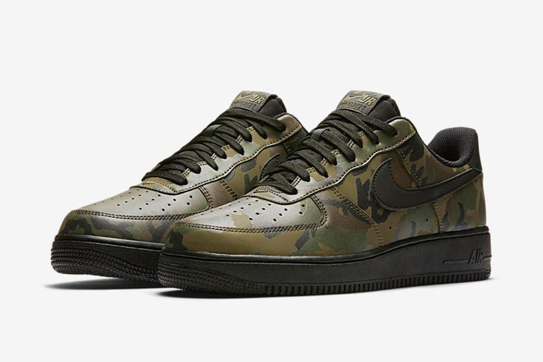 Nike Air Force 1 Camo Reflective 5 1