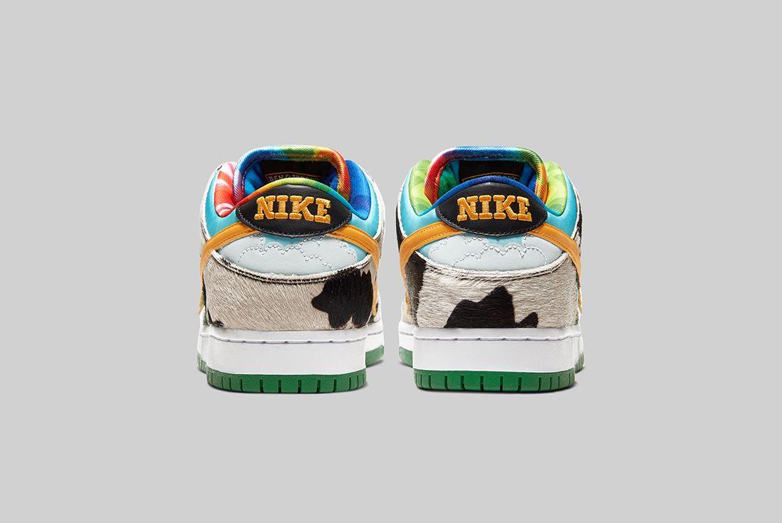 Ben & Jerry's x Nike SB Dunk Low Chunky Dunky Heel