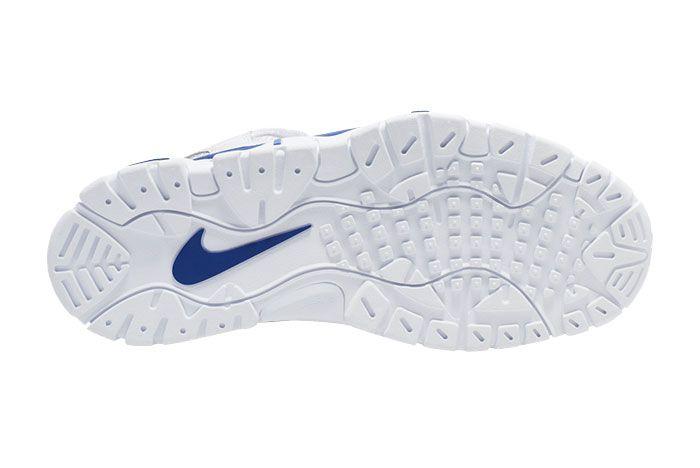 Nike Air Barrage Low 2020 White Royal Blue Cd7510 100 Sole Shot