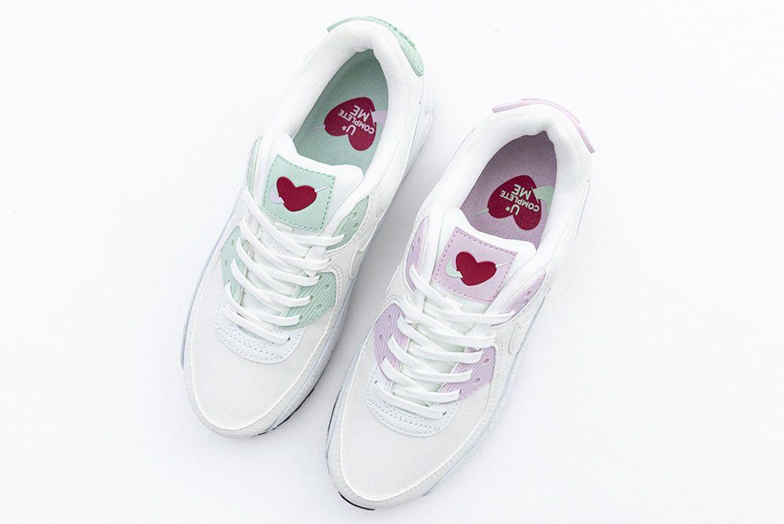 Valentines Day Nike Air Max 90 Air Force 1 07 Se Top