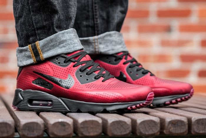 Nike Airmax Moire 1 Red Black 2