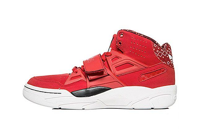 Adidas Mutombo Tr Block Scarlet Sideview