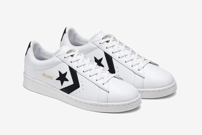 Converse Pro Leather Ox Black Pair