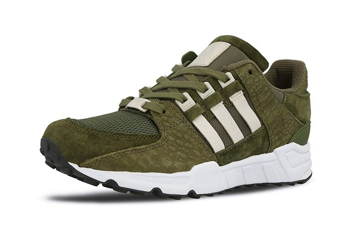 Adidas Equipment Support 93 Eqt Cargo Khaki Green 1