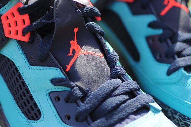 Air Jordan Spizike Turquoise Blue 2