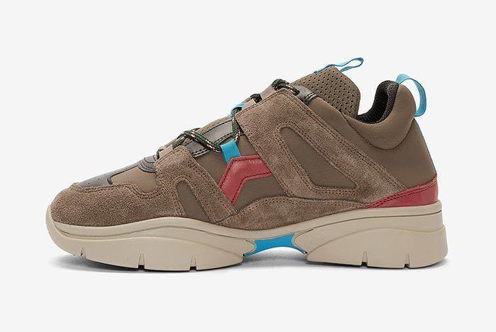 Isabel Marant Kindka Mountain Sneaker Grey 2