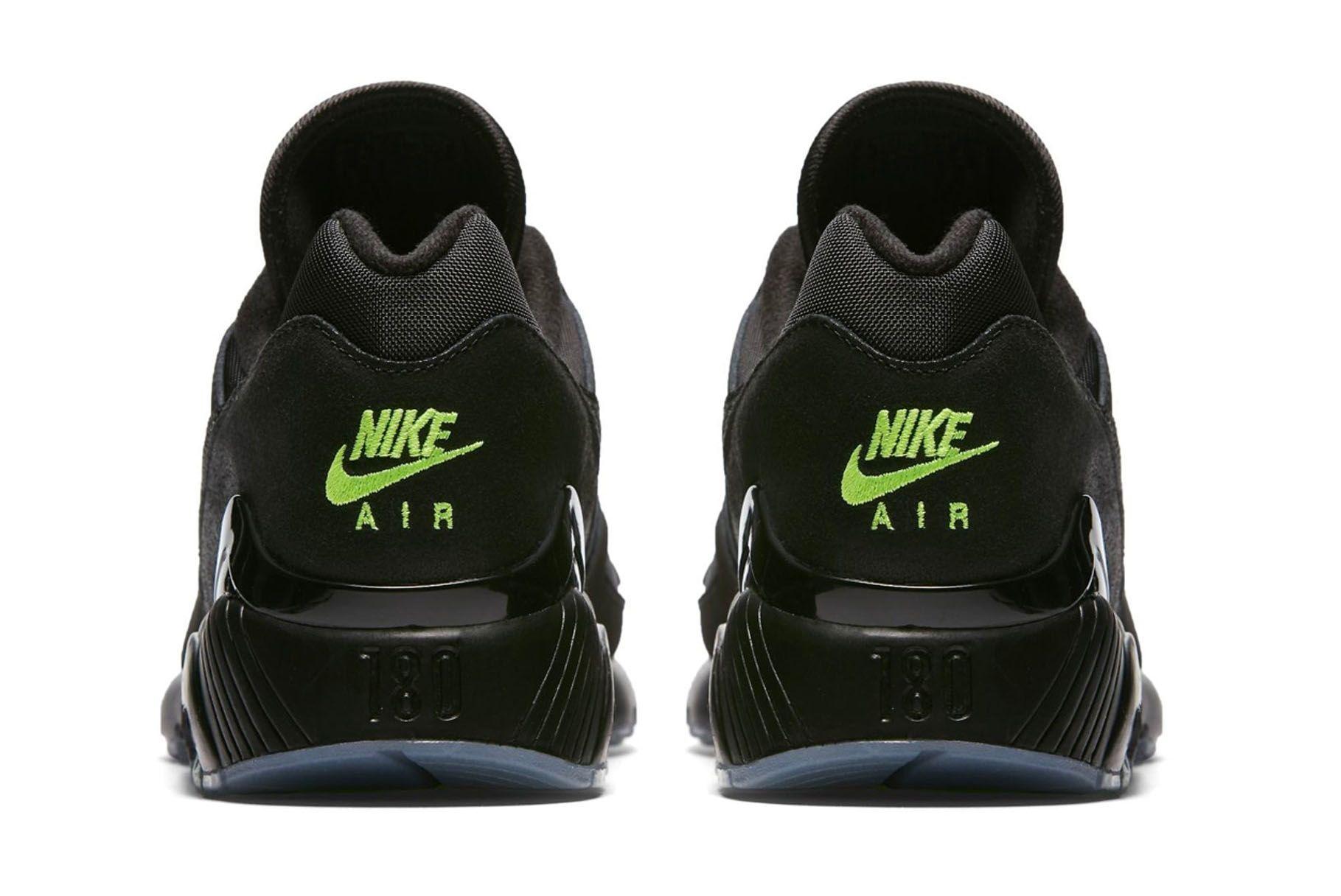 Nike Air Max 180 Black Volt First Look 004 Sneaker Freaker