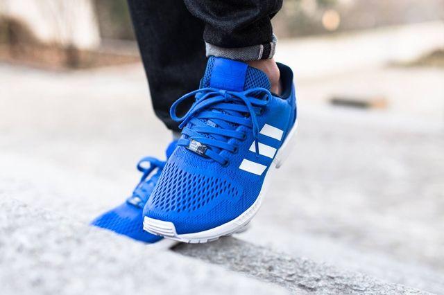 Adidas Zx Flux Strong Blue 4
