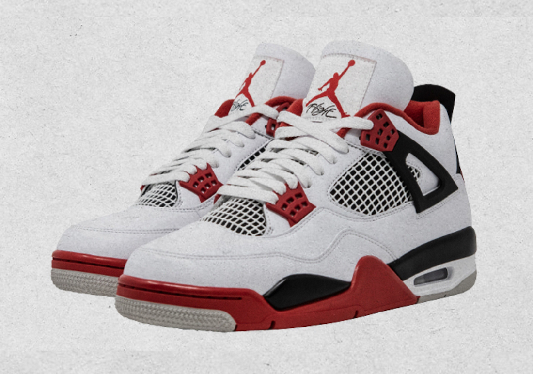 Air Jordan 4 OG Fire Red 2020 Retro DC7770-160