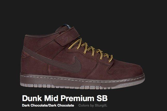 Nike Dark Choc Dunk Mid Sb 2009 2