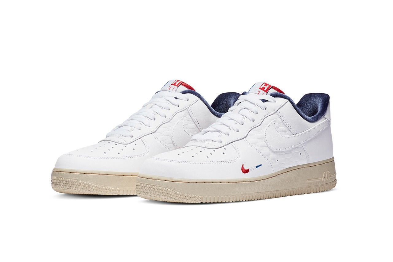 KITH x Nike Air Force 1 Low 'Paris' official