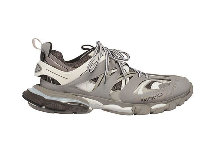 Balenciaga Track Trainer Grey White Available Now1