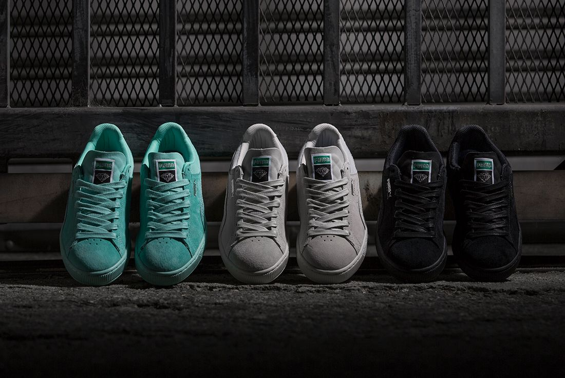 Diamond Supply Co X Puma Classic Suede Collection13
