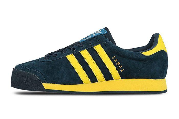 Adidas Samoa Vintage Svenska Blue Yellow 4