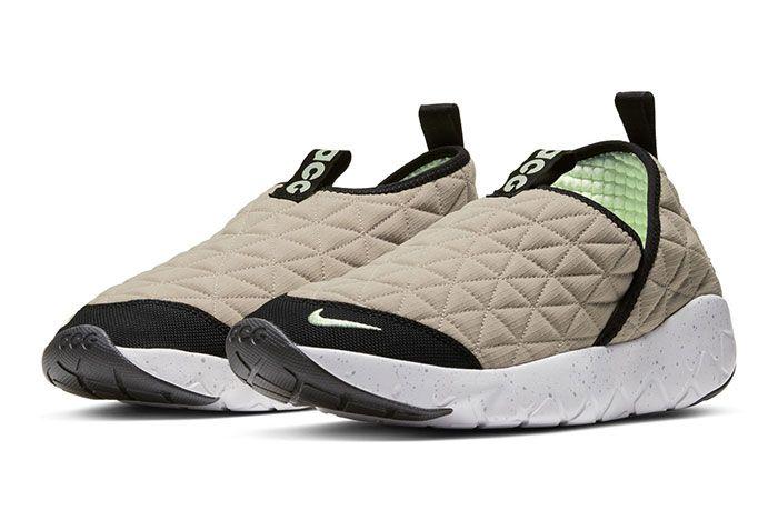 Nike Acg Moc 3 Beige Front Angle
