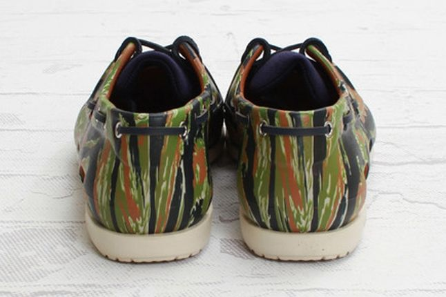 Crocs Elite Camo Boat Shoe Heel 1