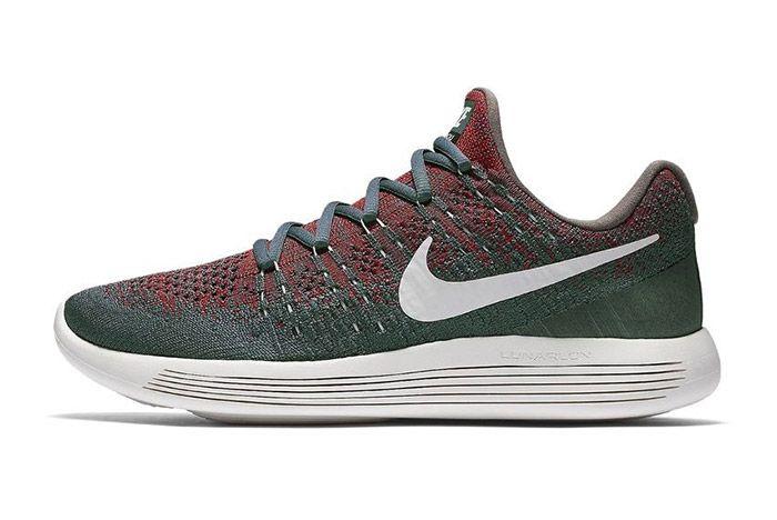 Nike Gyakusou Lunarepic Flyknit Low 2 Green Red 1