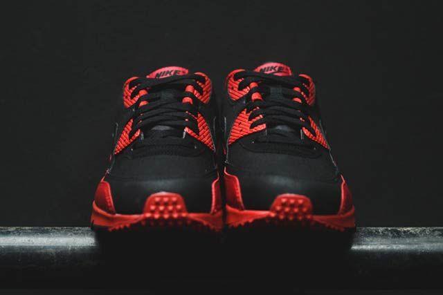Nike Air Max 90 Blackgym Red