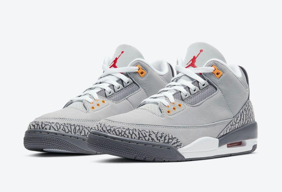 Air Jordan 3 Cool Grey
