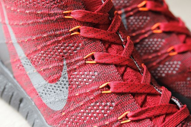 Nike Flyknit Trainer Chukka Fsb University Red 5