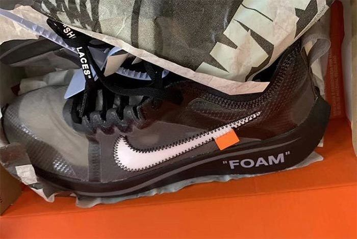 Off White Nike Zoom Fly Sp Tulip Black 1