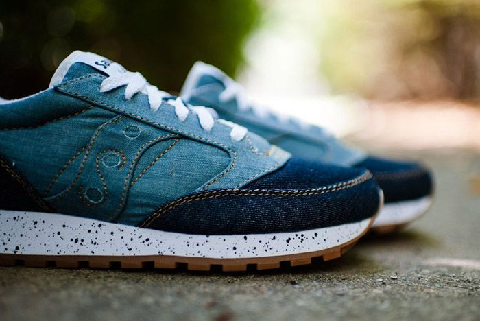 Saucony Jazz Original Denim Gum 8