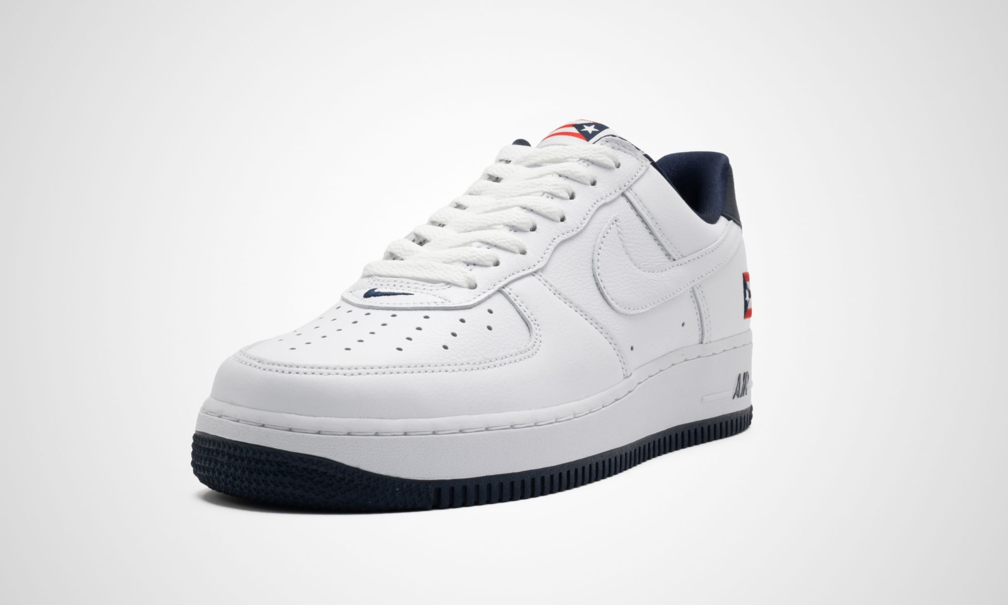 Nike Air Force 1 Puerto Rico Angled