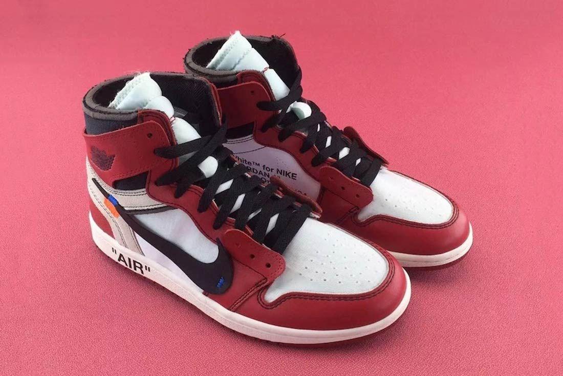 Off White X Air Jordan 1 2