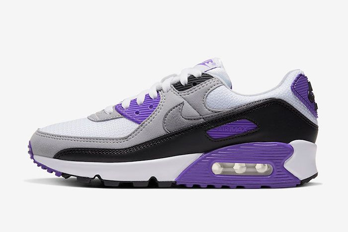Nike Air Max 90 Hyper Grape Cd0490 103 Lateral