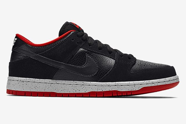 Nike Sb Dunk Low Black Cement6