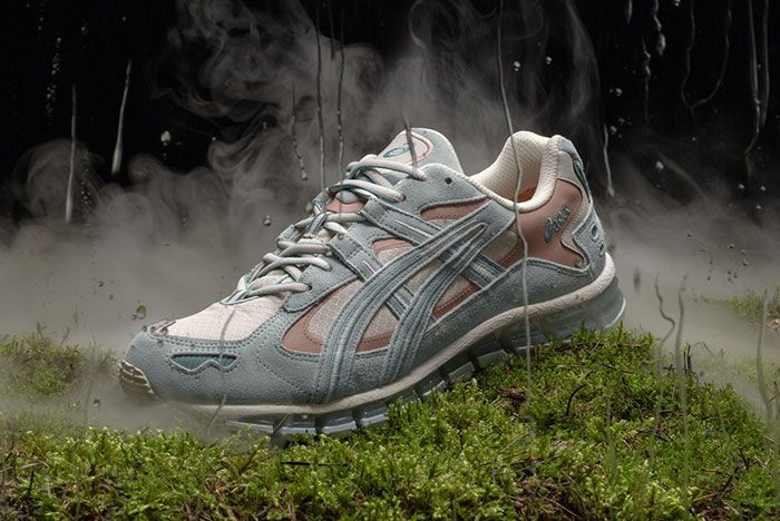 Asics Gel Kayano 5 360 Gore Tex Cool Mist Lateral