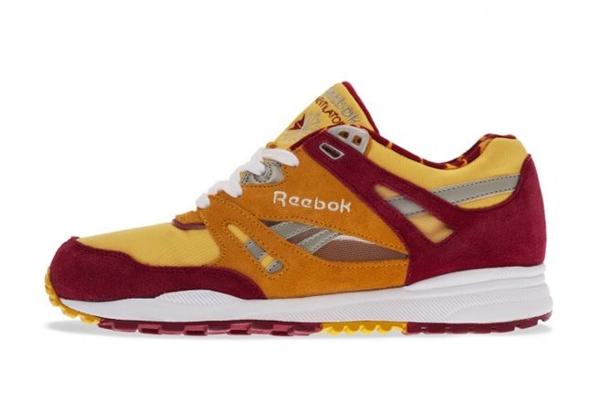 Reebok Ventilator Leopard Red Profile 1