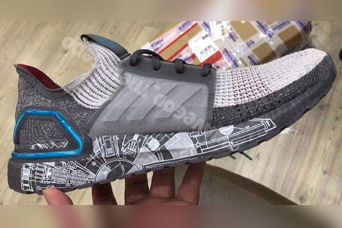 Star Wars Adidas Ultra Boost 19 Millennium Falcon 1 Side
