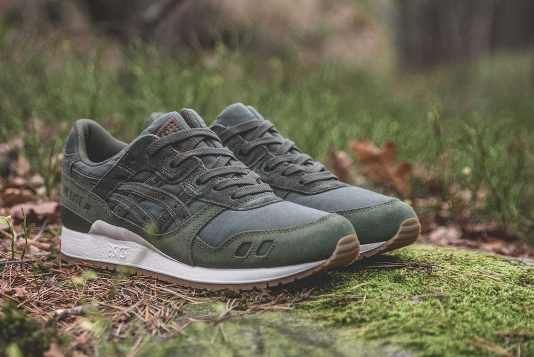 Sneakersnstuff X Asics Forest Pack