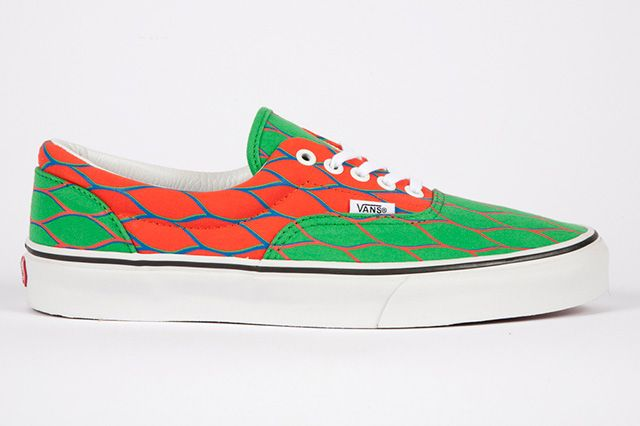 Kenzo And Vans  Era Red Green