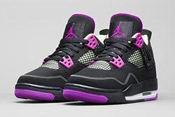 Air Jordan 4 Wmns Black Grape Thumb