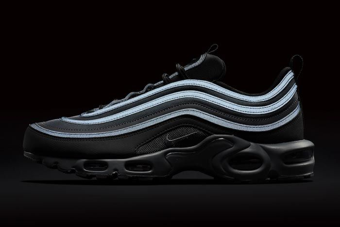 Nike Air Max Plus 97 Black Reflective Release