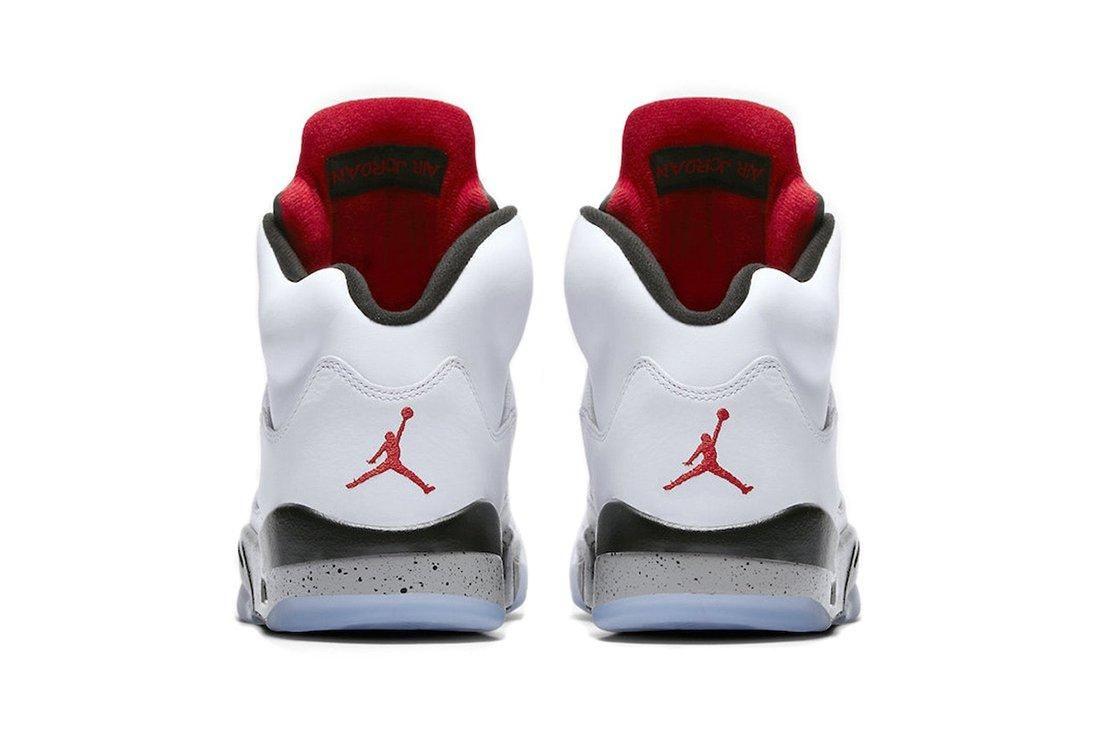 Air Jordan 5 White Cement3