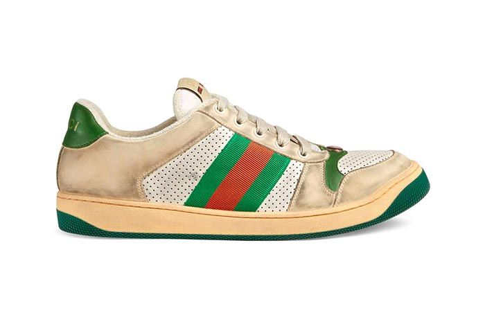 Gucci Distressed Sneakers Gg Canvas Release 2