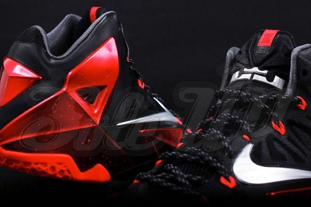 Nike Lebron 11 Miami Heat Away 4