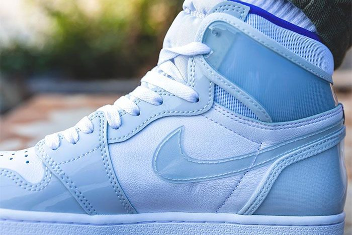 Air Jordan 1 High Zoom Racer Blue Close