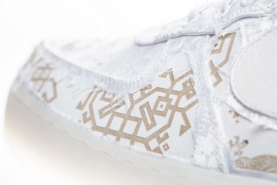 Clot X Nike Air Force 1 White On White 2018 Sneaker Freaker 4