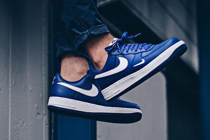 Nike Air Force 1 Mini Swoosh Deep Royal Blue 6