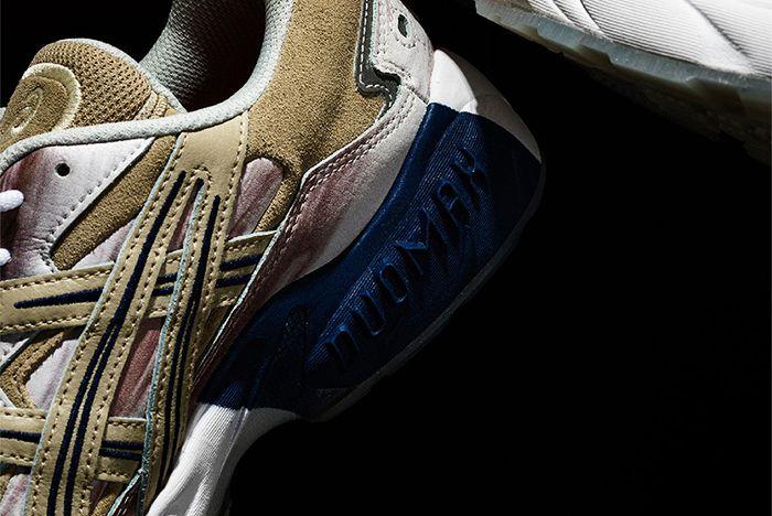 Billys Asics Gel Kayano 5 Jupiter Heel Detail