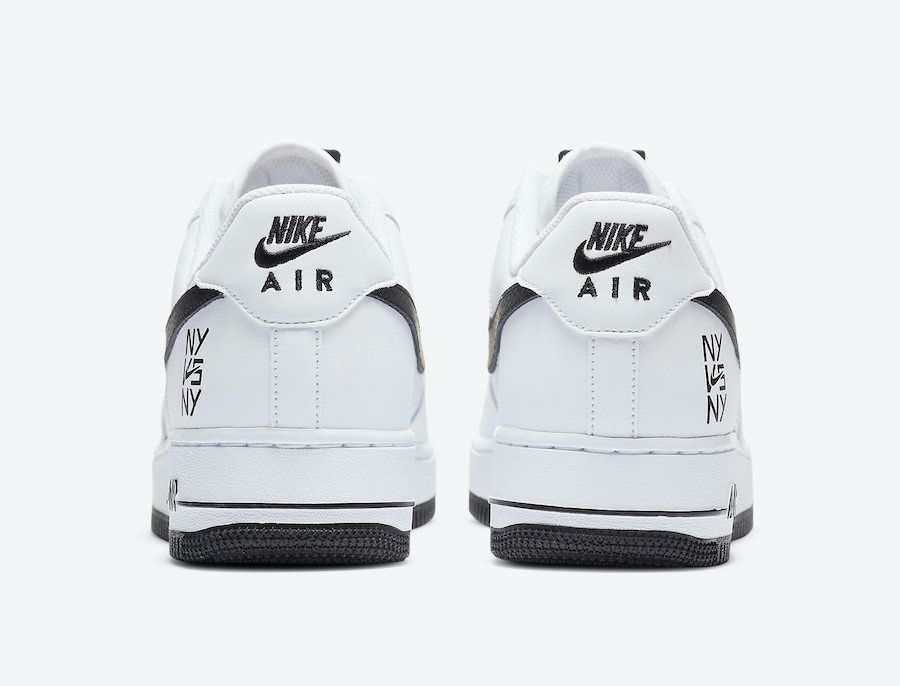 Nike Air Force 1 NY vs NY Heel