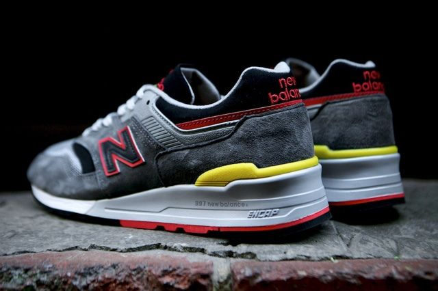 New Balance 997 Made Usa Dark Grey 10