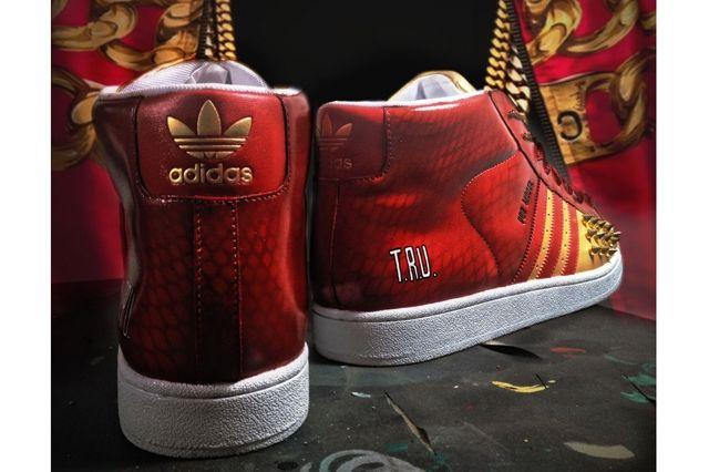 Adidas Originals Pro Model For 2 Chainz By Mache Custom Heel